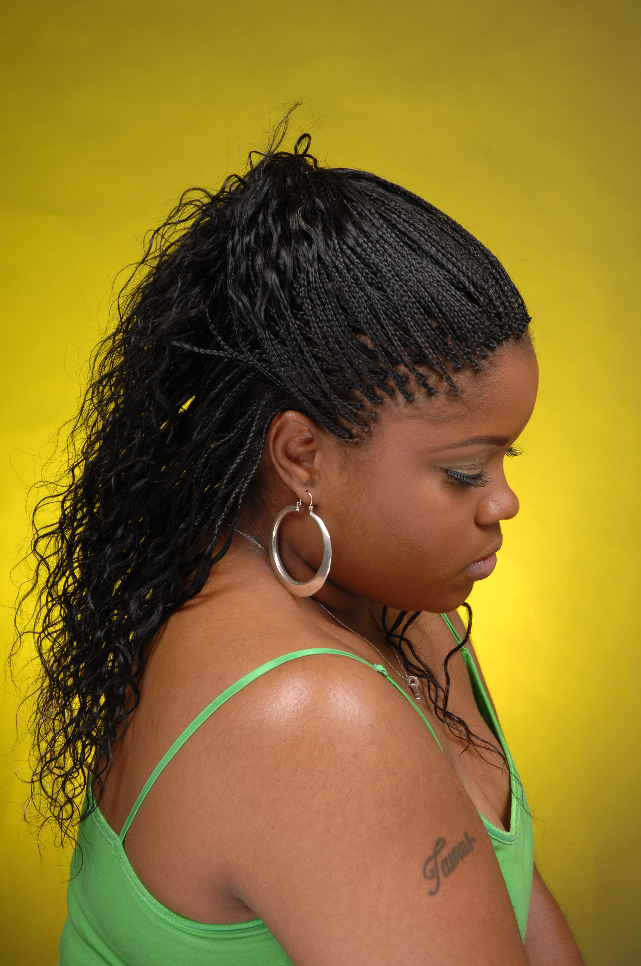 Displaying 20> Images For - Single Braids For Kids...